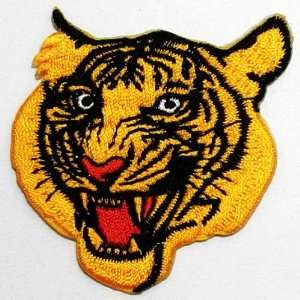 Tiger Zoo Safari Clothing Jacket Shirt Embroidered Iron on Patch