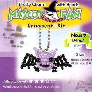 Mascot Bead Charm Kit   Halloween Vampire Bat: Arts, Crafts & Sewing