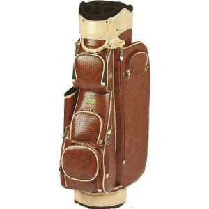 Cutler Sports Ladies Cart Golf Bags   Helena Cognac