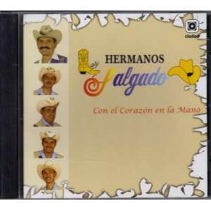 Los Hermanos Salgado Con El Corazon En La Mano: DISCOS