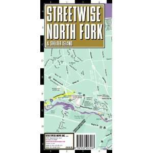 Map   Laminated City Street Map of North Fork, NY [Map] Streetwise