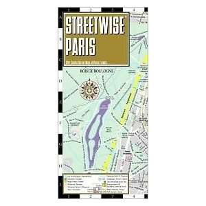 Map   Laminated City Center Street Map of Paris, France [Folded Map