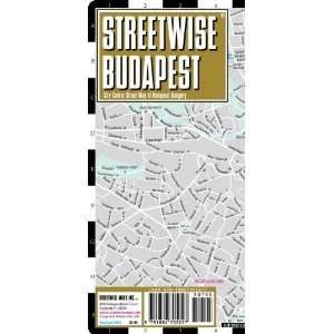 Streetwise Budapest Map   Laminated City Center Street Map