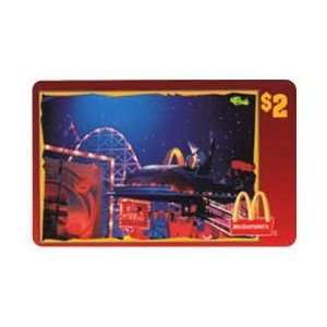 Coca Cola Collectible Phone Card $2. McDonalds 1996 Mac