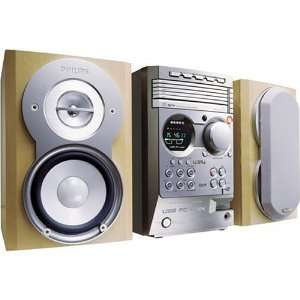 Philips MCM530 150 Watt Micro Shelf System with 5 Disc CD/MP3 Changer