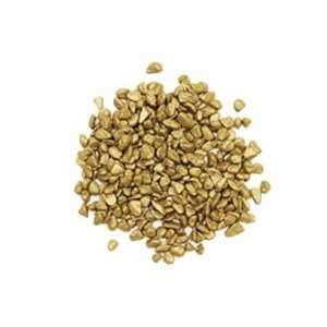 Vase Filler Rocks, Gold, 2 lbs per bag (18 bags)