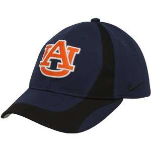 Nike Auburn Tigers Youth Navy Blue Black Team Flex Fit Hat