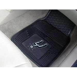 San Antonio Spurs Vinyl Car/Truck/Auto Floor Mats  Sports