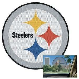 NFL Pittsburgh Steelers Decal   Perforated Sports