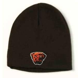 NFL Reebok Cleveland Browns Classic Knit Cuffless Dawg Beanie Hat