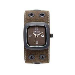 Nixon Mini GTO All Black/Green Analog Watch Sports