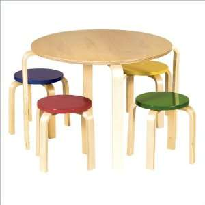 Guidecraft Multi Colored Nordic Table Set Toys & Games