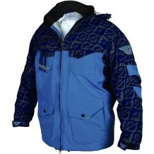 Fly Racing Pit Mens Casual Jacket   Navy/Grey / Small