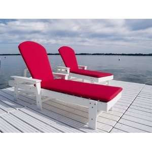 Pool Cushion Patio Recycled Plastic Lounge Set Patio, Lawn & Garden
