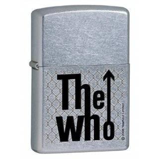 Zippo The Who Street Chrome Lighter   24559