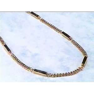Golden Power   Gold Plated Magnetic Therapy Necklace   EXTRA Strong