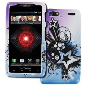 EMPIRE Motorola DROID RAZR MAXX XT912 Design Hard Case Cover (Purple