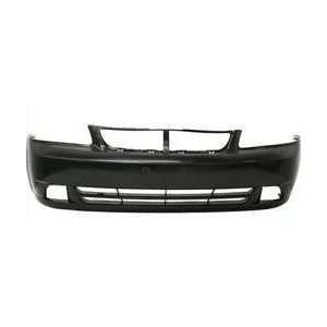 Suzuki Forenza Primed Black Replacement Front Bumper Cover Automotive
