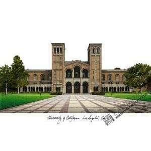 University of California, Los Angeles Lithograph 14x10