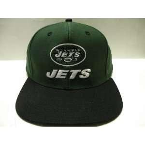 NFL New York Jets Classic Logo 2 Tone Retro Snapback Cap