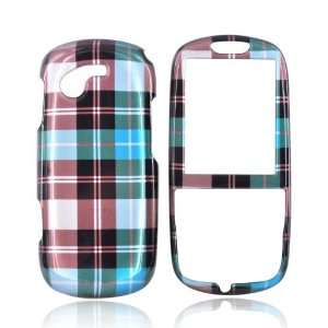 For Samsung Gravity 3 Hard Case Cover BLUE BROWN GREEN