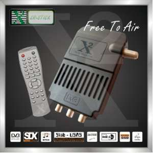 Strong FTA Dvb s Mini Digital Satellite Receiver with