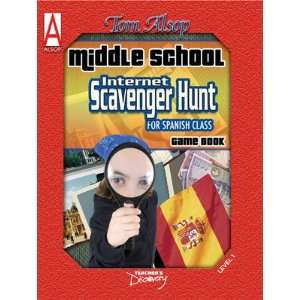 Middle School Internet Scavenger Hunt Spanish Book