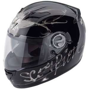 Scorpion Ardent EXO 500 Sports Bike Motorcycle Helmet   Black/Gray