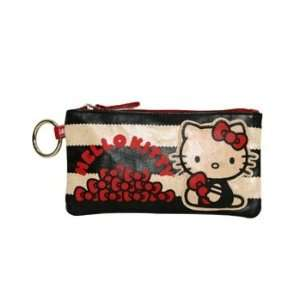 Hello Kitty Stripe with Red Bows Pencil Case Bag Office