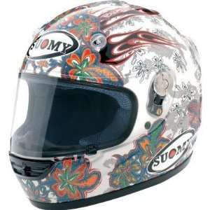 Suomy Vandal Helmet , Size 2XL, Style Flowers KTVLFL XXL