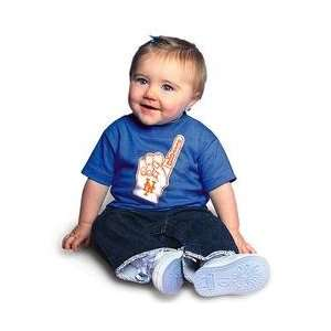 New York Mets Infant #1 Fan T Shirt by Soft as a Grape   Royal 6
