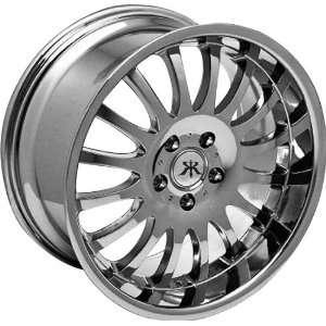 Rennen SPOKE   Chrome 18x8 Wheels   Wheels Rennen   SPOKE Automotive