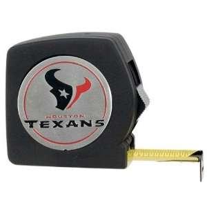 Houston Texans NFL 25 Black Tape Measure