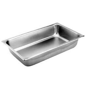 Standard 1/4 Size Anti Jamming Steam Table Pan   2 1/2 Deep (24 gauge