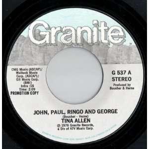 John, Paul, Ringo & George   Stereo; John, Paul, Ringo & George   Mono
