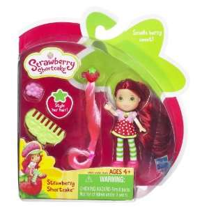 Strawberry Shortcake Mini Doll Playset  Toys & Games