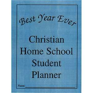 Christian Home School Student Planner:  Books