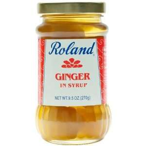 Ginger in Syrup   1 jar, 9.5 oz  Grocery & Gourmet Food