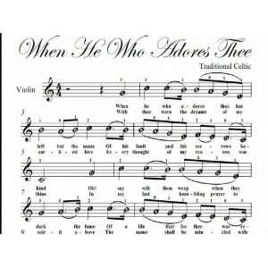 Sheet music for violin easy