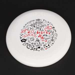 Round Plastic Frisbee for Children Pet Dog