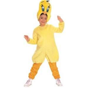 Childs Looney Tunes Tweety Bird Costume (Small): Toys & Games