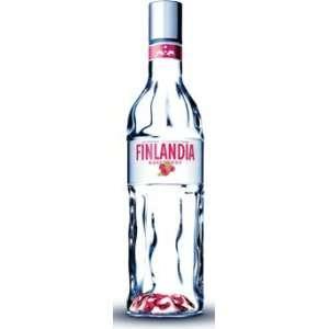 Finlandia Raspberry Vodka 1 Liter Grocery & Gourmet Food