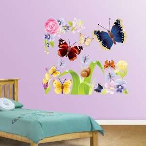 Butterflies Group One Vinyl Wall Graphic Decal Sticker