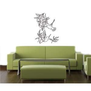 Wall Art Decor Vinyl Decal Sticker HUMMING BIRD