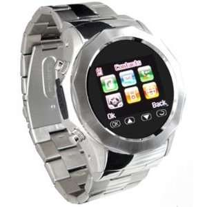 Metal Watch Cell Phone Mobile Unlocked CameraAT&T Q999A