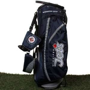 NHL Winnipeg Jets Fairway Stand Golf Bag   Navy Blue