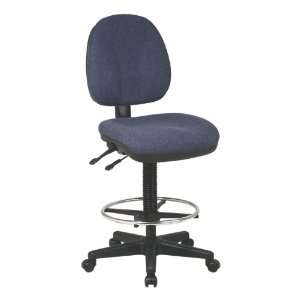 Work Smart Deluxe Ergonomic Drafting Stool