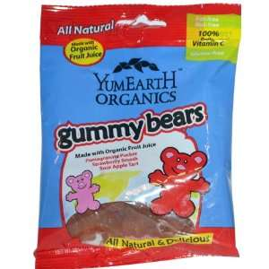 Yummy Earth, Organics, Gummy Bears, 12 Packs, 2.5 oz (71 g) Each