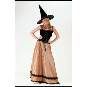 Witch Elegant Gold Small Med