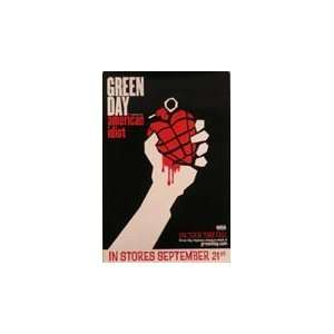 Green Day   American Idiot   Poster 25X37 Everything